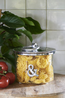 & Metal Storage Jar - Riviera Maison