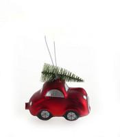 Joulukoriste - Punainen auto