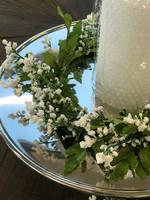 Finnmari - Kukkakranssi, valkoinen