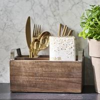 Cutlery Napkins Kitchen Organiser - Riviera Maison
