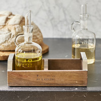 Oil Vinegar Kitchen Organiser - Riviera Maison