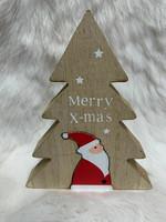 Joulukoriste - kuusi ja tonttu, puu