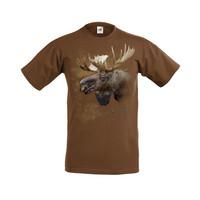 Hirvenpää t-paita (S-koko)