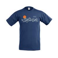 Hopeiset porot t-paita