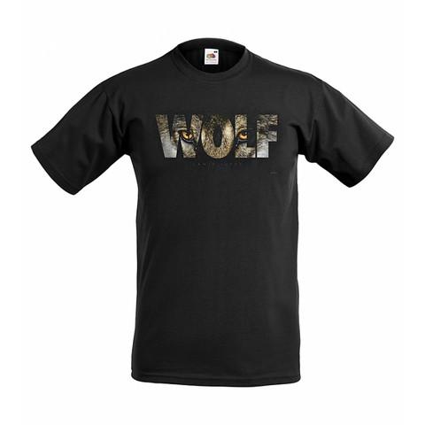 Wolf - sudensilmät t-paita