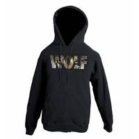 Wolf sudensilmät huppari