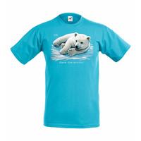 Jääkarhunpentu lasten t-paita