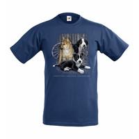 Koiranpennut lasten t-paita, sininen