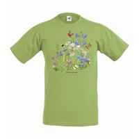 Niitty ja perhoset t-paita
