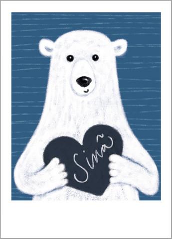 Sinä-postikortti