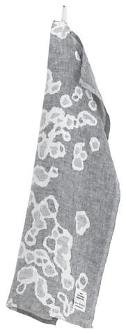 Saimaannorppa -pellavakäsipyyhe