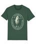 Unisex retrologo t-paita (metsänvihreä)