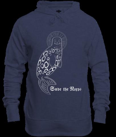 Save the Norps -huppari (sininen)