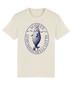 Unisex retrologo t-paita (luonnonvalkoinen)