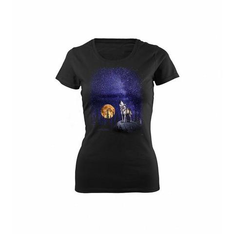 Naisten Susi ja tähtitaivas t-paita