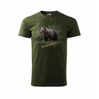 Karhu ja kelo t-paita