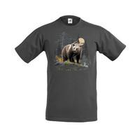 Karhu kivellä t-paita