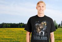 Wildlife of Finland Sudet t-paita