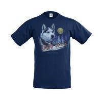 Huskyvaljakko lasten t-paita