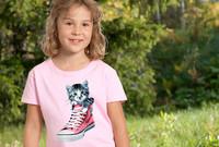 Tossukissa lasten t-paita