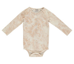 MarMar Bo Body Feather Print Jersey (Cameo Rose)