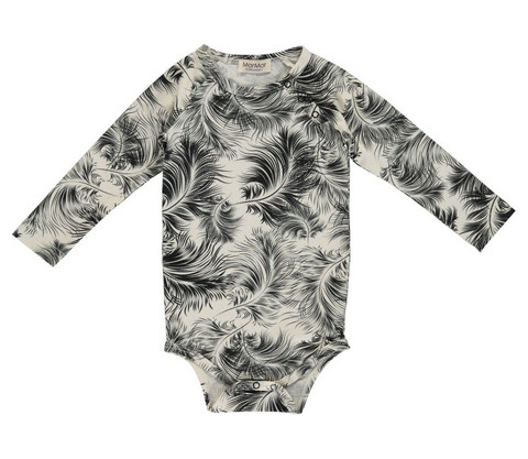 MarMar Bo Body Feather Print Jersey (Peat)
