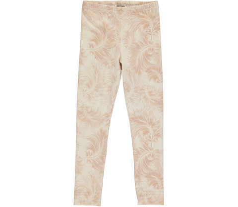 MarMar Lisa Junior Leg Feather Print Jersey (Cameo Rose)