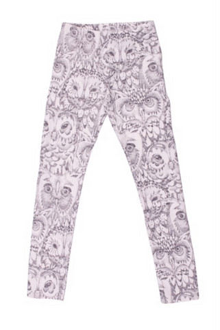 Soft Gallery Paula Junior Leggins Owl (Cream)