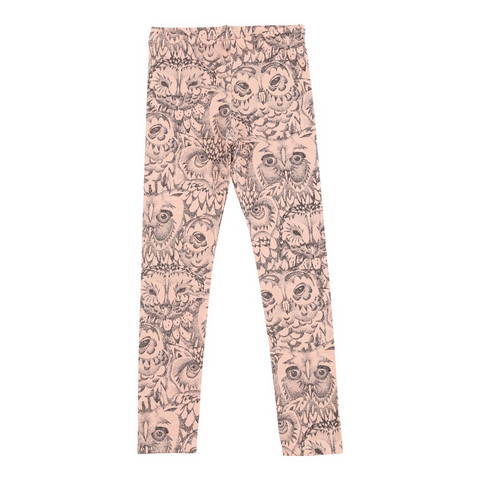 Soft Gallery Paula Junior Leggins Owl (Coral)