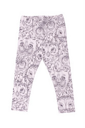 Soft Gallery Paula Baby Leggins Owl (Cream)
