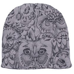 Soft Gallery Beanie Owl (Drizzle)