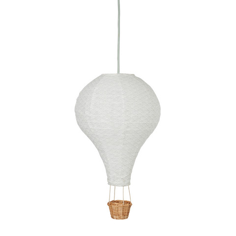 Cam Cam Air Balloon Lamp (Grey Wave/Mint)