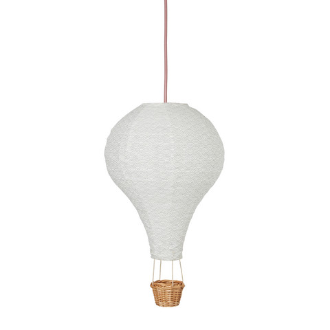 Cam Cam Air Balloon Lamp (Grey Wave/Rose)