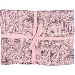 Soft Gallery Muslin Owl (Coral)