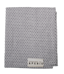 Aperie Parker Guest Towel Pique (Ombre Blue)