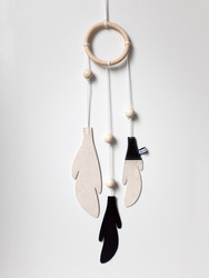 Bisou de Lou Dream Catcher (Black/White)