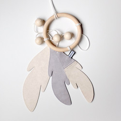 Bisou de Lou Dream Catcher (Grey/White)