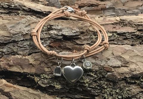 Menden heart -bracelet