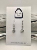 Earrings, chrystal