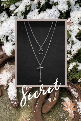 Secret - lock necklace