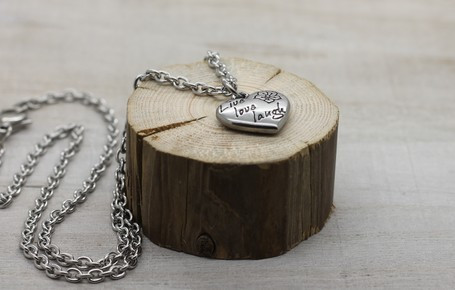 Live love laugh -necklace 45cm