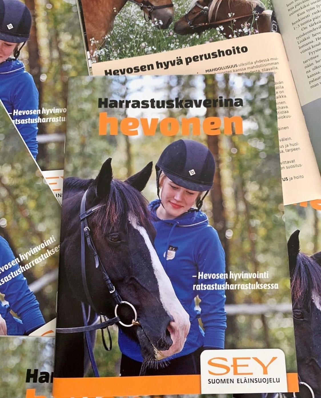 Harrastuskaverina Hevonen -lehtinen