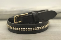 Belt brown, size 55cm (70)