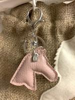 Grando -key holder, light pink