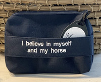 NEW; I believe in myself and my horse, blue