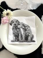 Paper napkin, dalmatian