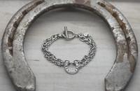 Onni - horseshoe bracelet double 19cm
