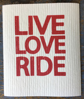 Live Love Ride-tiskirätti