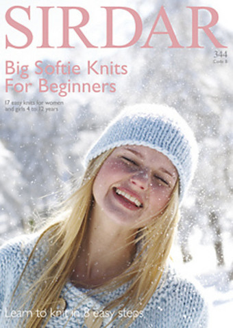 Big Softie Knits For Beginners-mallilehti