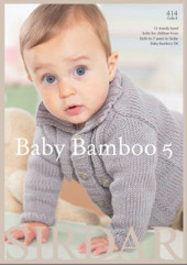 The Baby Bamboo Book of Trendy Little Knits-mallilehti